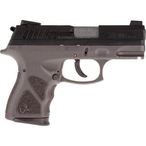 "Taurus TH40c .40 S&W Compact Semi Auto Pistol 3.5"" Barrel 15 Rounds Novak Style Sights Thumb Safety Gray Polymer Frame Black Finish"