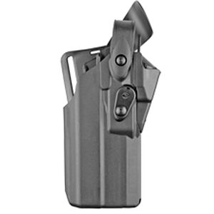 Safariland Model 7360RDS 7TS ALS/SLS Duty Holster Fits GLOCK 17 MOS Gen 1-4 with TLR-7 or Similar Lights and Trijicon RMR or Similar Red Dots Right Hand LVL III Mid-Ride SafariSeven Plain Black