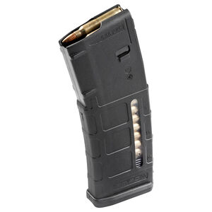 Magpul Windowed PMAG 30 AR-15 Magazine, .223/5.56, 30 Rounds, Gen M2 MOE Black