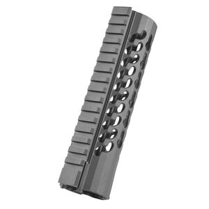 "Samson Manufacturing LR308/M&P10 Free Float KeyMod Evolution Series 7.2"" Hand Guard 6061 T6 Aluminum Hard Coat Anodized Black KM-EVO-DPMS-72"