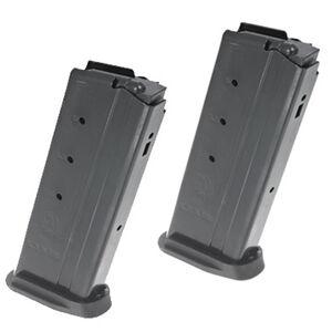 Ruger Ruger-57 Magazine 5.7x28 20 Rounds Polymer Base Plate Steel Matte Black 2 Pack