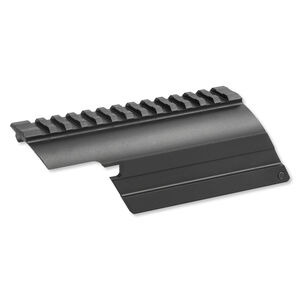 Sun Optics Shotgun Saddle Scope Mount Mossberg 500 12 Gauge Aluminum Black
