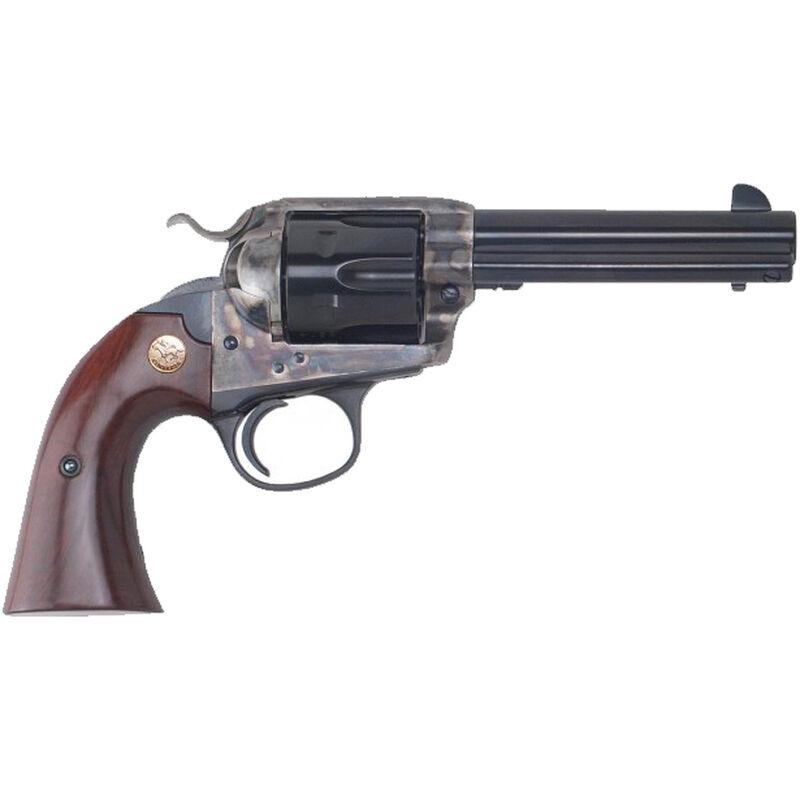 """Cimarron Bisley Model Revolver 357 Mag 4.75"""" Barrel 6 Rounds Color Case Hardened Frame Walnut Grip Blued"""