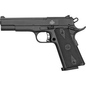 "Rock Island Armory XT 22 Magnum .22 WMR 1911 Style Semi Auto Rimfire Pistol 5"" Barrel 15 Rounds Synthetic Grips Matte Black Finish"