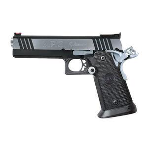 "Metro Arms SPS Pantera Semi Auto Pistol .40 S&W 5"" Barrel 16 Rounds Adjustable Rear Sight Fiber Optic Front Sight Polymer Grips Black Chrome SPP40BC"