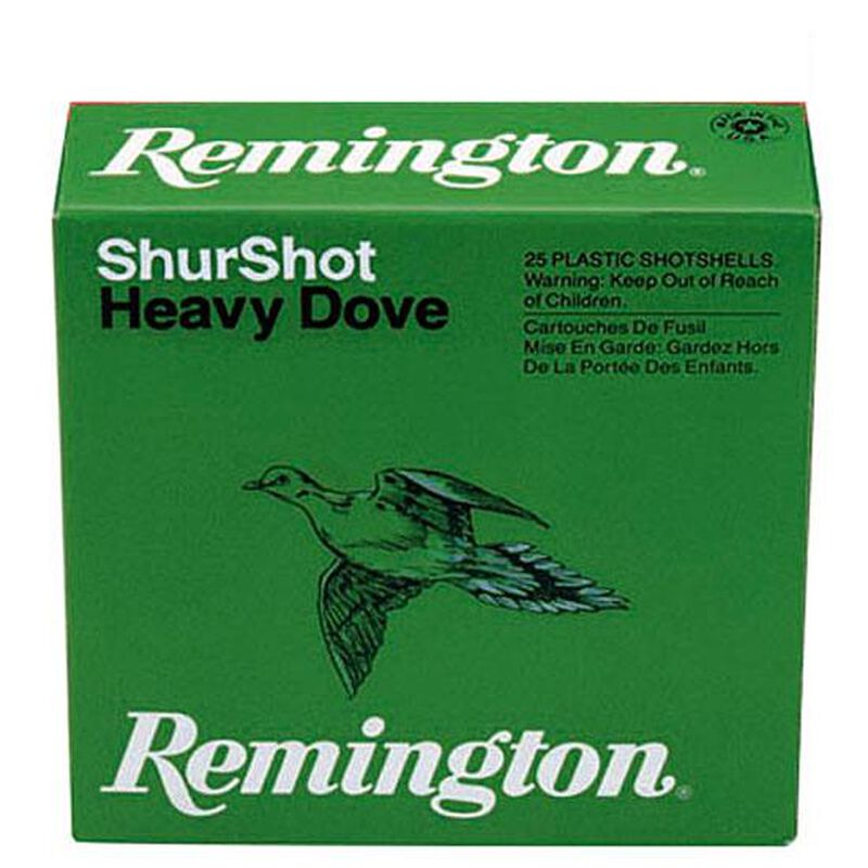 "Remington 20 Gauge ShurShot 2-3/4"" #7.5 1 Oz 250 Rounds"