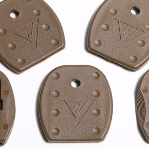 TangoDown Vickers Tactical GLOCK 9mm / 40 S&W Floor Plates Polymer Brown
