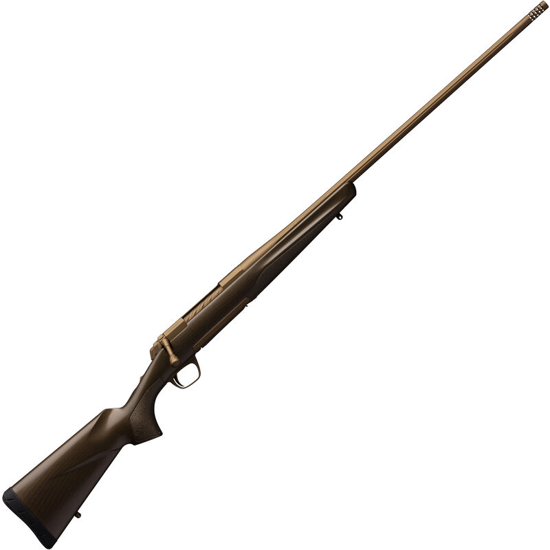 "Browning X-Bolt Pro Bolt Action Rifle .30-06 Spring 22"" Threaded Barrel 4 Rounds Composite Carbon Fiber Stock Burnt Bronze Cerakote Finish"