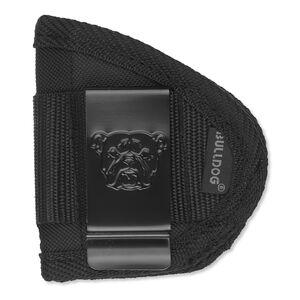 Bulldog Cases IWB Holster Universal Small Handguns Ambidextrous Metal Clip Nylon Black WIPS