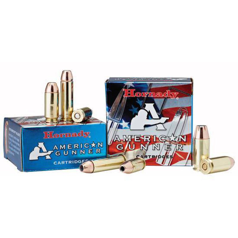Hornady American Gunner 9mm Luger +P Ammunition 25 Rounds XTP JHP 124 Grains 90224