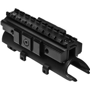 NcSTAR SKS Tri-Rail Receiver Cover Aluminum and Steel Black