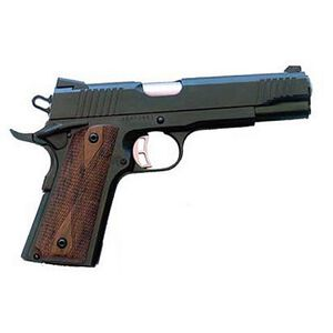 "Citadel 1911 Semi Automatic Handgun .45 ACP 5"" Barrel 8 Rounds Checkered Wood Grips Blued Finish"