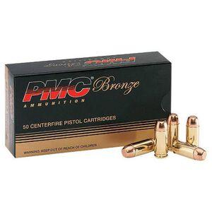 PMC Bronze .38 Super Auto+P 130 Grain FMJ 50 Round Box