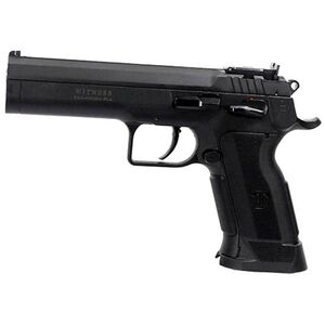 "EAA Witness P Match Single Action Semi Automatic Pistol .45 ACP 4.75"" Barrel 10 Rounds Polymer Competition Frame Single Action Trigger Fully Adjustable Super Sight Black Finish"