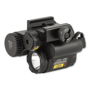 Leapers UTG Sub Compact LED Light and Red Laser Aluminum Black LT-ELP28R