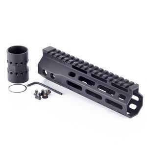 "Wilson Combat AR-15 7.3"" M-LOK Free Float Hand Guard Machined Aluminum Hard Coat Anodized Matte Black"