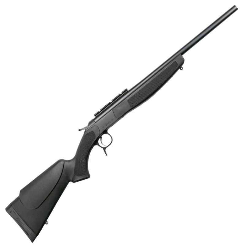 "CVA Scout Compact 6.5 Creedmoor Single Shot Break Action Rifle 20"" Barrel DuraSight Scope Rail Mount Synthetic Forend/Stock Blued/Black Finish"