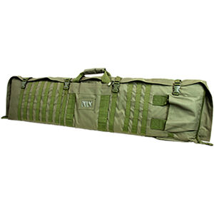 """NcSTAR Rifle Case/Shooting Mat 48"""" Padded Synthetic Fabric Urban Green"""