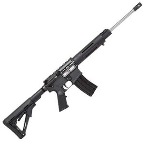 """DPMS Panther LBR AR-15 Semi Auto Carbine .223 Rem/5.56 NATO 16"""" Stainless Barrel 30 Rounds Flat Top Upper Magpul MOE Stock Black Finish RFA3-LBR"""