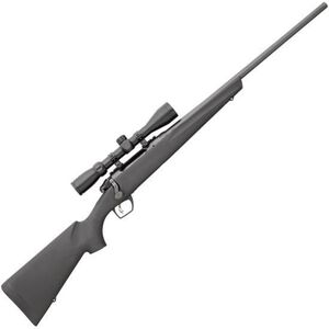 """Remington 783 Bolt Action Rifle .243 Win 22"""" Barrel 4 Rounds with 3-9x40mm Scope Free Float Synthetic Stock Black Matte Blue Finish 85842"""