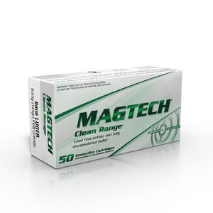 Magtech 9mm Luger Ammunition 50 Rounds TMJ 124 Grains CR9B