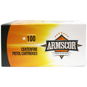 Armscor .22 TCM Ammunition 100 Rounds 40 Grain Jacketed Hollow Point 1875fps