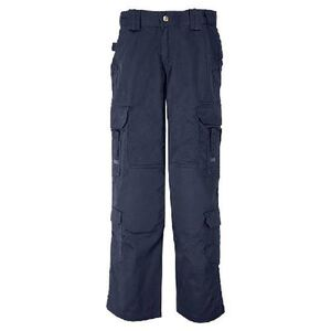 5.11 Tactical Women's EMS Poly/Cotton Twill Pant Size 4 Long Dark Navy 64301
