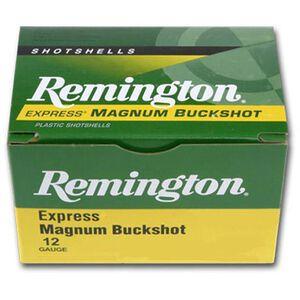 "Remington 12 Gauge 3"" 000 Buck 10 Pellets 5 Round Box"