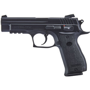 "Sarsilmaz K2-45 .45 ACP Semi Auto Pistol 4.7"" Barrel 14 Rounds Adjustable Rear Sight Steel Frame Black"