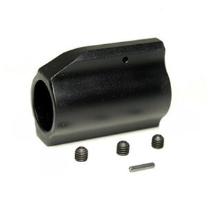 "ODIN Works AR-15 Low Profile .750"" Gas Block Aluminum Black"
