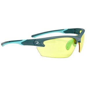 Radians Ladies Range Eyewear Adult Safety/Shooting Glasses Amber Lens Aqua/Charcoal Frame