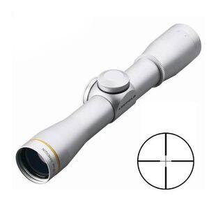 Leupold FX-II 4X28mm Handgun Scope Duplex Reticle 1/2 MOA Silver