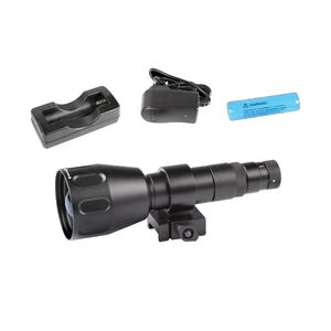 AGM Global Vision Sioux850 Long Range Infrared Illuminator Matte Black