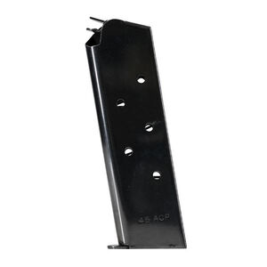 Colt 1911 Compact Defender/Officer 7 Round Magazine .45 ACP Stainless Steel Black Finish