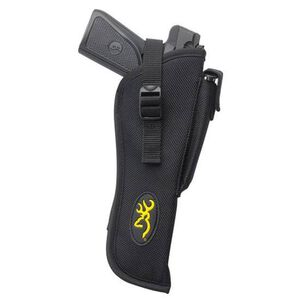 "Browning Buckmark 6"" Barrel Belt Slide Holster with Magazine Pouch Nylon Right Hand Black 12902012"