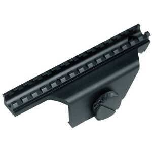Leapers UTG Deluxe New Generation M1A 4 Point Picatinny Style Mount Aluminum Black MNT-914V2