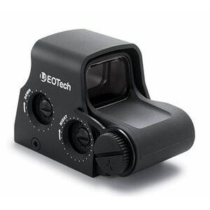 EOTech XPS2-0 Holographic Weapon Sight 65 MOA Circle and 1 MOA Dot Non Night Vision Compatible CR123 Battery Weaver/Picatinny Black XPS2-0