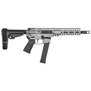 "CMMG Banshee 300 MK10 10mm Auto AR-15 Semi Auto Pistol 8"" Barrel 30 Rounds GLOCK Style Magazine RML7 Free Float M-LOK Hand Guard Cerakote Titanium"