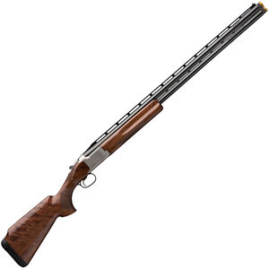 "Browning Citori CXT White 12 Gauge O/U Break Action Shotgun 30"" Vent Rib Barrels 3"" Chamber 2 Rounds Walnut Stock Silver Receiver with Blued Barrel Finish"