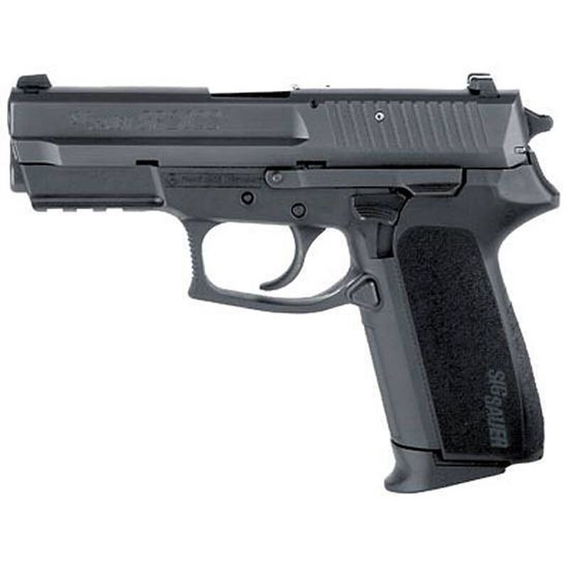 "SIG Sauer SP2022 Semi Auto Pistol 9mm Luger 3.9"" Barrel 15 Round Capacity Polymer Grips Nitron Finish E2022-9-B"