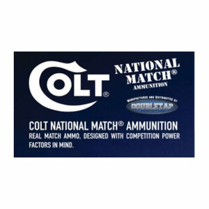 Colt Defense .300 Blackot Ammunition 20 Rounds Match HPBT 220 Grains