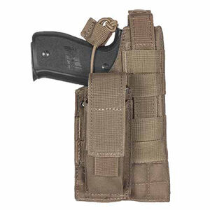 Fox Outdoor Belt Holster Large Frame Autos Ambidextrous Nylon Coyote Tan 58-588