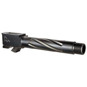Rival Arms Barrel for SIG Sauer P320 Carry Models 9mm Luger Fluted Threaded 1/2x28 4340H Steel Billet PVD Coating Black Finish
