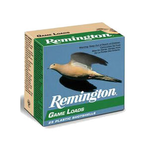 "Remington Game Loads 20 Gauge Ammunition 250 Rounds 2.75"" #8 Lead 7/8 Ounce GL128"