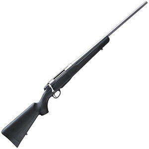 """Tikka T3x Lite Stainless Bolt Action Rifle 6.5mm Creedmoor 24"""" Barrel 3 Rounds Black Synthetic Stock Stainless Steel Finish"""
