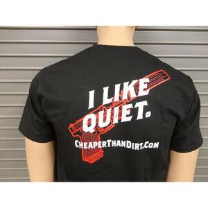 Cheaper Than Dirt Range Day Friday Black T-Shirt