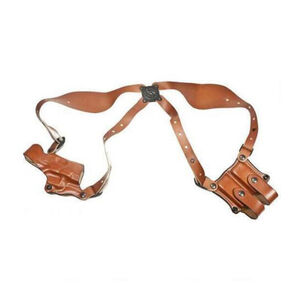 DeSantis New York Undercover 1911 Government Shoulder Holster Right Hand Tan 11DTA21L0