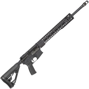 "Radical Firearms AR-15 Semi Auto Rifle .450 Bushmaster 7 Rounds 20"" HBAR Barrel 15"" Free Float MHR Handguard Collapsible Stock Black"