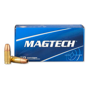 Magtech 9mm Luger Ammunition 50 Rounds Subsonic JHP 147 Grains 9K