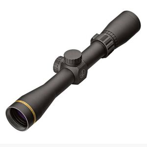 "Leupold VX-Freedom 2-7x33 Riflescope Duplex Non-Illuminated Reticle 1"" Tube .25 MOA Adjustments Finger Click Turrets Second Focal Plane Matte Black Finish"